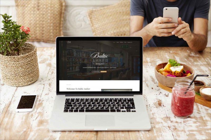 Baltic Amber Restaurant & Bar - Website Design & Development